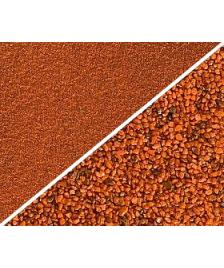 Farbsand orange 0,4-0,8mm